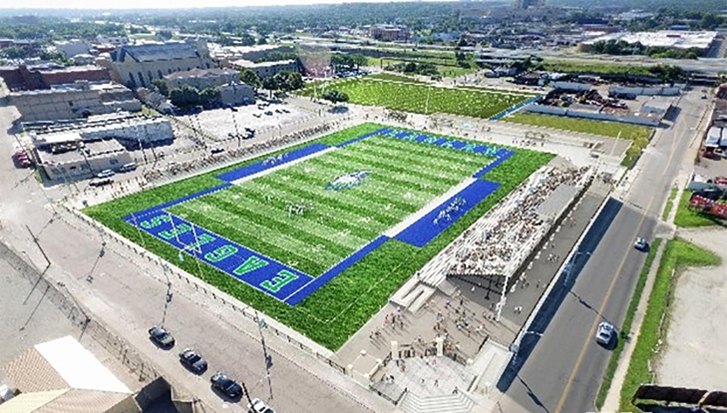 New Roger Glass Stadium