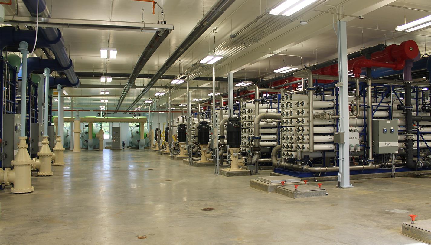 DELAWARE WATER TREATMENT PLANT IMPROVEMENTS