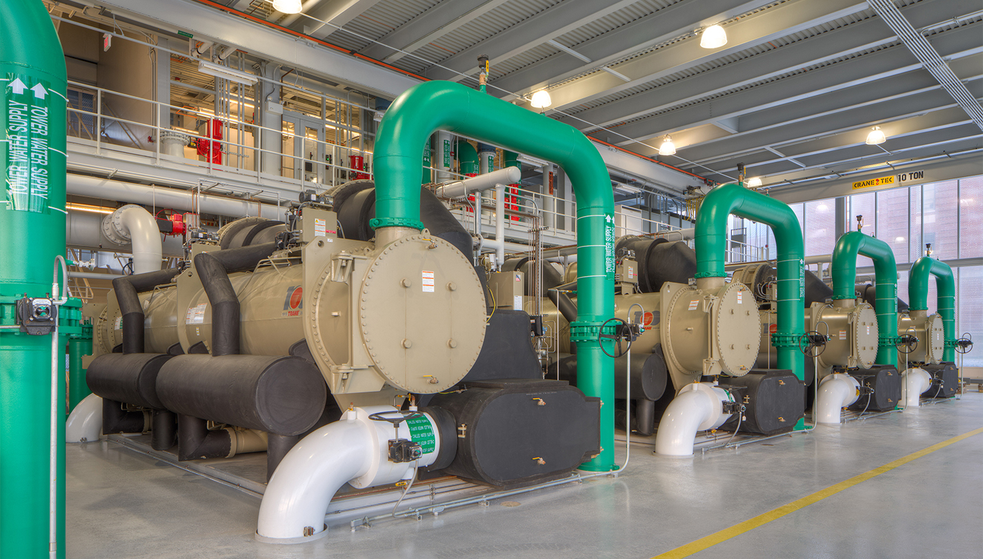 THE OHIO STATE EAST REGIONAL CHILLED WATER PLANT